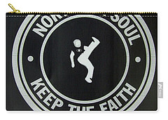 Northern Soul Dancer Inverted Carry-all Pouch
