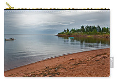 Northumberland Shore Nova Scotia Red Sand Beach Carry-all Pouch