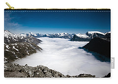 Norway In The Clouds Carry-all Pouch