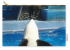 Carry-all Pouch featuring the photograph Nose Dive by David Nicholls