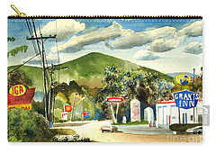 Nostalgia Arcadia Valley 1985  Carry-all Pouch by Kip DeVore
