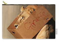 Not A Giraffe Carry-all Pouch