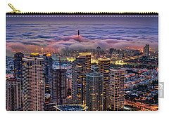 Carry-all Pouch featuring the photograph Not Hong Kong by Ron Shoshani