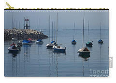 Carry-all Pouch featuring the photograph Sail Boats  by Eunice Miller