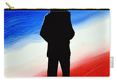 Not Self But Country Carry-all Pouch