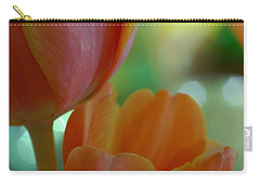 Nothing As Sweet As Your Tulips Carry-all Pouch by Donna Blackhall