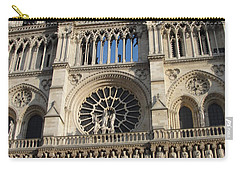 Carry-all Pouch featuring the photograph Notre Dame by Tiffany Erdman
