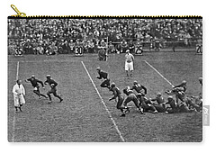 Notre Dame Versus Army Game Carry-all Pouch by Underwood Archives