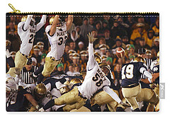 Notre Dame Versus Navy Carry-all Pouch