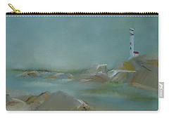 Nova Scotia Fog Carry-all Pouch by Judith Rhue