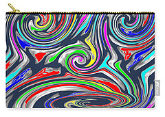 Novino  Clueless In Seattle  Funny Comedy Cartoon Background Designs  And Color Tones N Color Shades Carry-all Pouch