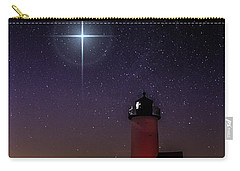 Star Over Annisquam Lighthouse Carry-all Pouch