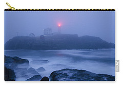 Nubble Light In Foggy Dawn Carry-all Pouch