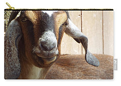 Nubian Goat Carry-all Pouch