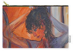 Nude Dressing Carry-all Pouch by Avonelle Kelsey