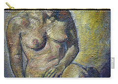 Sad - Nude Woman Carry-all Pouch
