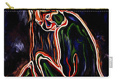 Outlined Nude 1 Carry-all Pouch