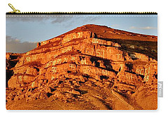 Carry-all Pouch featuring the photograph Number Hill by Benjamin Yeager