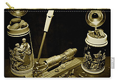 Nut Cracker With Steins Carry-all Pouch