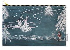 Nutcrackers Dance Of The Snowflakes Carry-all Pouch