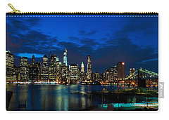 Ny Skyline From Brooklyn Heights Promenade Carry-all Pouch
