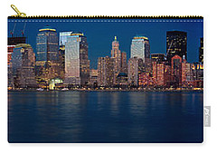 Nyc Pano Carry-all Pouch by Jerry Fornarotto