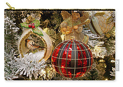 Carry-all Pouch featuring the photograph O Christmas Tree by Victoria Harrington