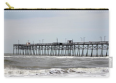 Oak Island Beach Pier Carry-all Pouch