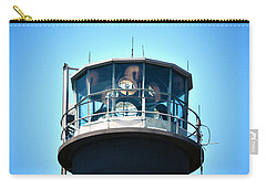 Oak Island Lighthouse Beacon Lights Carry-all Pouch by Sandi OReilly