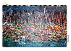 Oak Street Beach Chicago II -sold Carry-all Pouch by George Riney