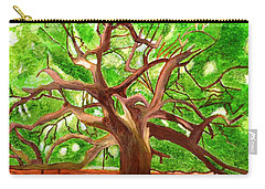 Oak Tree Carry-all Pouch