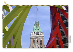 Oakland Tribune Carry-all Pouch by Donna Blackhall