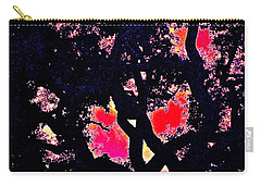Carry-all Pouch featuring the photograph Oaks 10 by Pamela Cooper