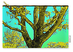 Carry-all Pouch featuring the photograph Oaks 3 by Pamela Cooper
