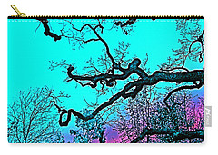 Oaks 4 Carry-all Pouch by Pamela Cooper