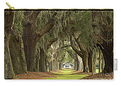 Oaks Of The Golden Isles Carry-all Pouch by Adam Jewell