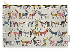 Oatmeal Spice Deer Carry-all Pouch