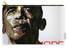 Obama Hope Carry-all Pouch by Paul Lovering