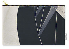 Obsession Sails 9 Black And White Carry-all Pouch