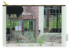 Carry-all Pouch featuring the photograph Obsolete by Ann Horn