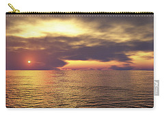 Carry-all Pouch featuring the digital art Ocean 2 by Mark Greenberg