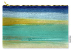Ocean Blue 3- Art By Linda Woods Carry-all Pouch