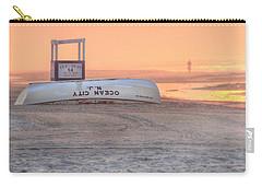 Ocean City Beach Patrol Carry-all Pouch by Lori Deiter