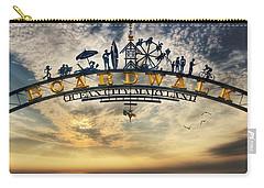 Ocean City Boardwalk Carry-all Pouch by Lori Deiter