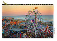 Ocean City Castaway Cove And Music Pier Carry-all Pouch