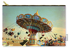 Ocean City Nj Carousel Swing Time Carry-all Pouch