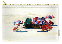 Ocean City Nj Stars And Stripes Carry-all Pouch