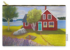 Ocean Cottage Carry-all Pouch