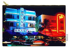 Ocean Drive Polaroid  Carry-all Pouch