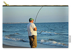 Carry-all Pouch featuring the photograph Ocean Fishing by Cynthia Guinn